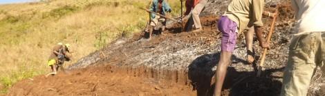 Iniziate le attività per la realizzazione di nuove dighe e terrazzamenti