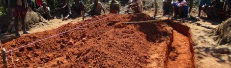 Iniziati i lavori di costruzione della cappellina a Sahamapahy