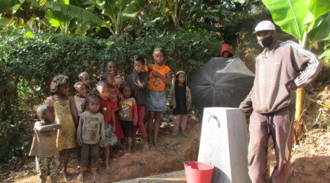 Realizzato impianto dell'acqua a Tsarafidy