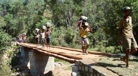 Terminato il ponte di Ambohajanahary